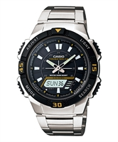 Picture of CASIO  SOLAR AQ-S800WD-1EVDF