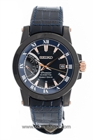 Picture of SEIKO Premier Kinetic  Super blue special edition SRG012