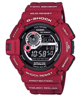 Picture of CASIO  G-SHOCK   G-9300RD-4   MUDMAN  Limited