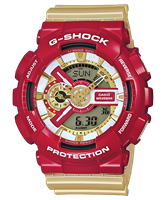 Picture of CASIO G-SHOCK   GA-110CS-4A   Iron Man  Limited Edition