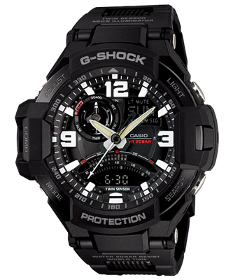 Picture of  CASIO G-SHOCK GA-1000FC-1A