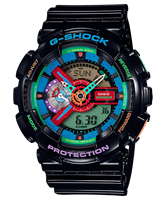 Picture of CASIO G-SHOCK   GA-110MC-1A Lmited color