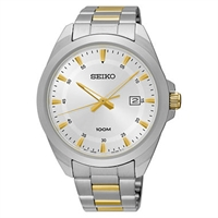 Picture of SEIKO  SUR211P สีทองสลับเงิน