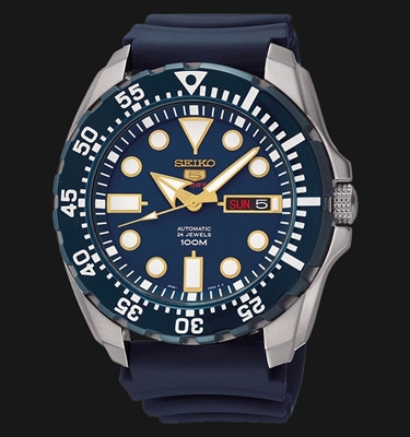 Picture of SEIKO Automatic Blue Dial SRP605K2