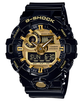 Picture of CASIO G-SHOCK GA-710GB-1A สีดำเงา