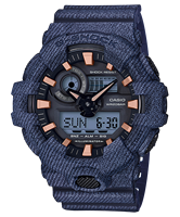 Picture of CASIO G-SHOCK GA-700DE-2A ลายยีนส์