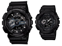 Picture of G-SHOCK , BABY-G  Love  GA-110-1B & BA-110BC-1