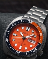 Picture of SEIKO TURTLE ORANGE  SRPC95K LIMITED เต่าส้ม