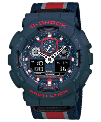 Picture of CASIO G-SHOCK   GA-100MC-2A