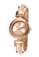 Picture of ESPRIT นาฬิกาขอมือสุภาพสตรี  ES900772003  - สีพิงค์โกลด์