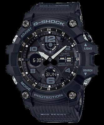 Picture of CASIO G-SHOCK GSG-100-1A สีดำด้าน