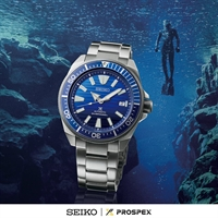 Picture of SEIKO SAMURAI SAVE THE OCEAN SRPC93K  AUTOMATIC  สีฟ้าน้ำทะเล